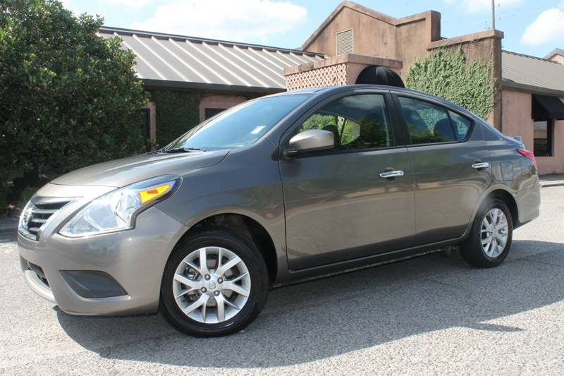 2015 NISSAN VERSA 16 SV 4DR SEDAN gray low miles blue tooth capable steering wheel hands free