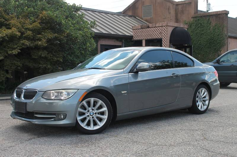 2011 BMW 3 SERIES 335I XDRIVE AWD 2DR COUPE gray leather seats rear vents navigation bluetooth