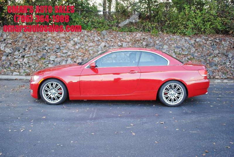 2007 BMW 3 SERIES 328I 2DR CONVERTIBLE red no accidents convertible clean car with heated memo