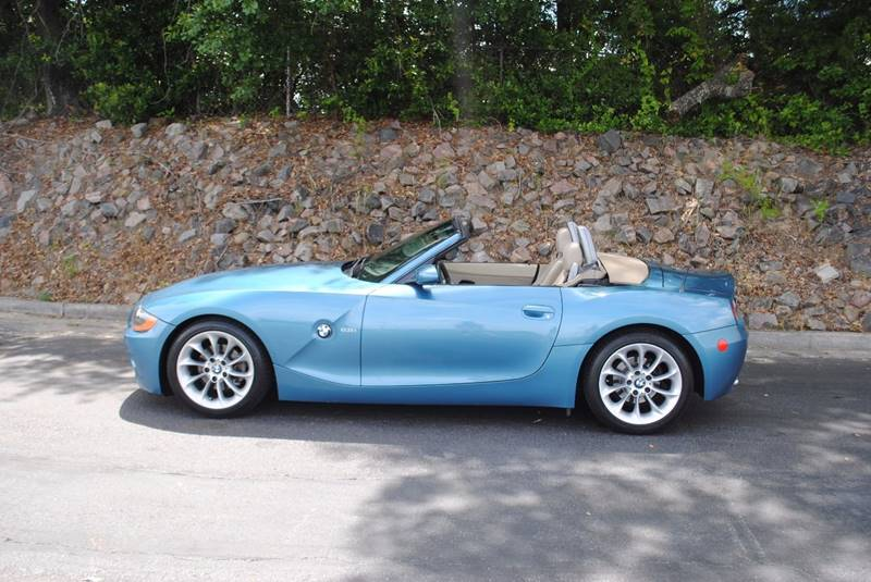 2004 BMW Z4 25I 2DR ROADSTER blue front air conditioning interior accents - aluminum shift kno