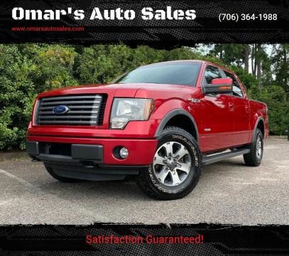 2012 Ford F-150 for sale at Omar's Auto Sales in Martinez GA