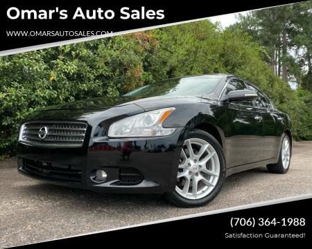 2010 Nissan Maxima for sale at Omar's Auto Sales in Martinez GA