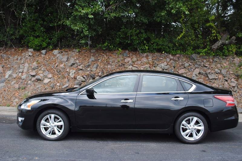 2013 NISSAN ALTIMA 25 SV 4DR SEDAN black exhaust - dual tip door handle color - chrome exhaust