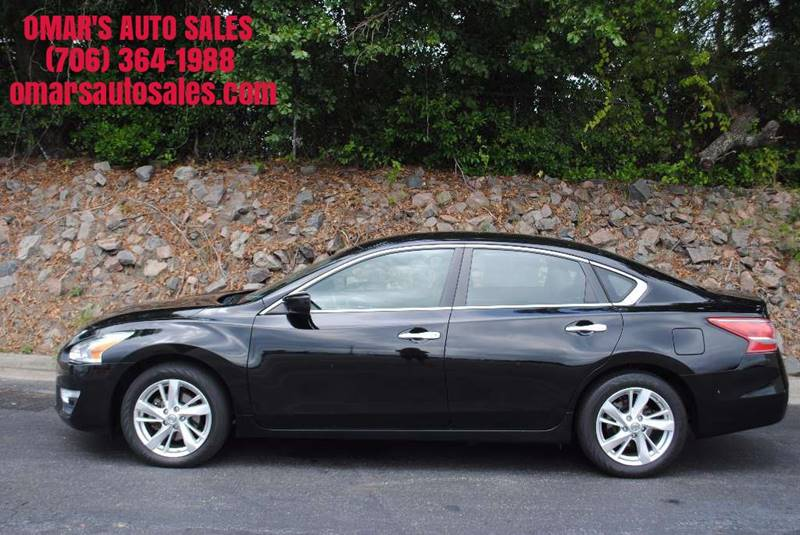 2013 NISSAN ALTIMA 25 SV 4DR SEDAN black one owner no accidents 3 months sirius satellite