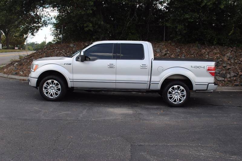 2010 FORD F-150 PLATINUM 4X4 4DR SUPERCREW STYLE silver body side moldings - accent fender lip mo