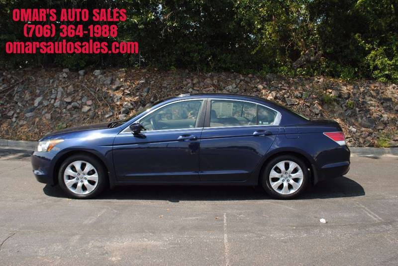 2008 HONDA ACCORD EX-L 4DR SEDAN 5A blue one owner no accidents 3 months free siriusxm satell