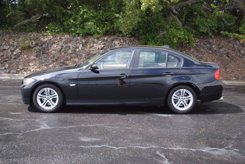 2008 BMW 3 SERIES 328I 4DR SEDAN black no accidents new tires bluetooth clean car with heated