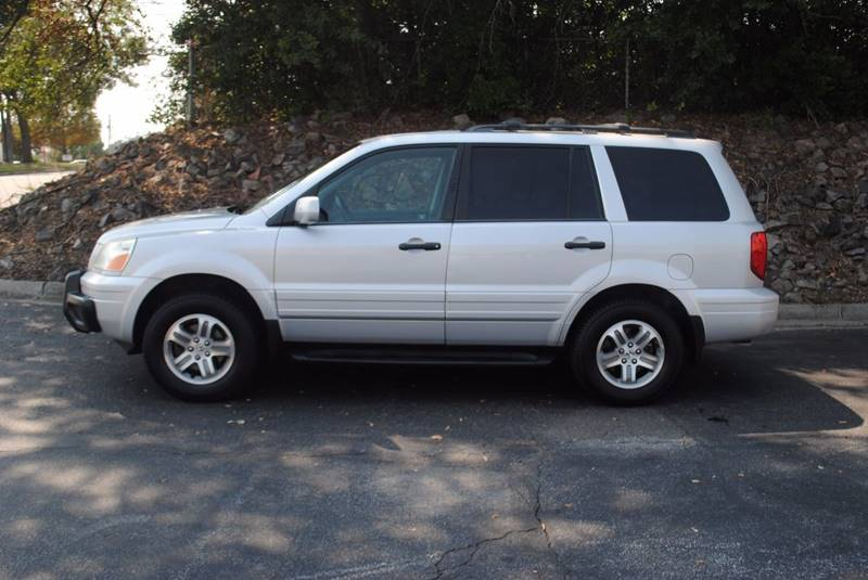 2004 HONDA PILOT EX-L 4DR 4WD SUV WLEATHER AND E silver rear spoiler - roofline rear spoiler co