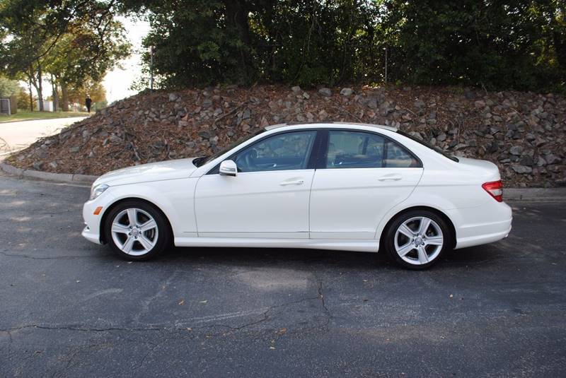 2011 MERCEDES-BENZ C-CLASS C300 SPORT 4DR SEDAN white exhaust - dual tip exhaust tip color - chr