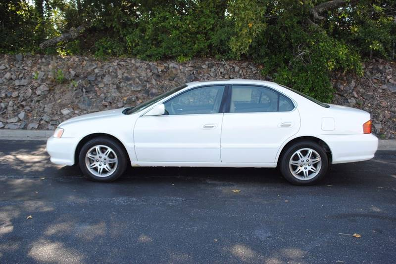 2001 ACURA TL 32 4DR SEDAN white front air conditioning front air conditioning - automatic clim