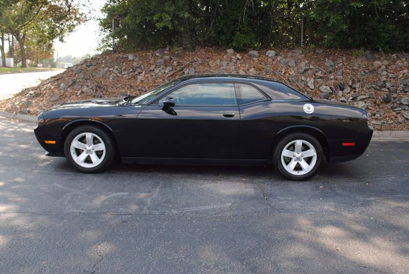 2014 DODGE CHALLENGER SXT 2DR COUPE black exhaust - dual tip door handle color - body-color exh