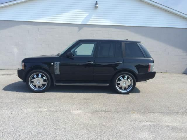 2006 LAND ROVER RANGE ROVER SUPERCHARGED 4DR SUV 4WD black trailer hitch skid plates air filtr