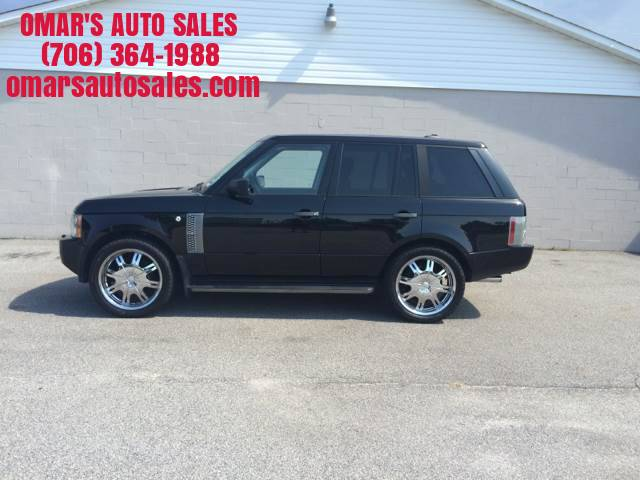2006 LAND ROVER RANGE ROVER SUPERCHARGED 4DR SUV 4WD black no accidents 3 months sirius satelli