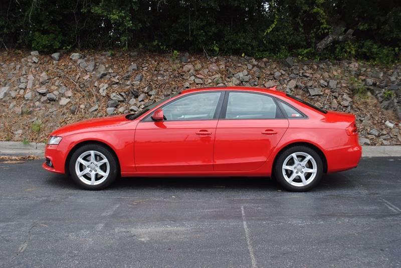 2009 AUDI A4 20T QUATTRO AWD PREMIUM 4DR SED red mirror color - body-color steering ratio - 16