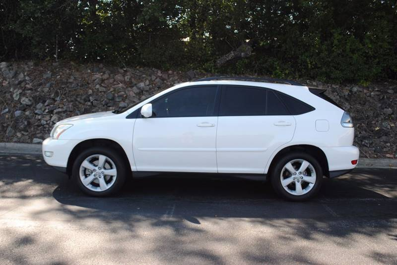 2004 LEXUS RX 330 BASE 4DR SUV white rear spoiler front air conditioning front air conditioning