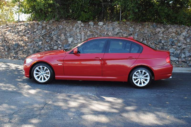 2011 BMW 3 SERIES 328I 4DR SEDAN red no accidents great tires bluetooth 3 months free siriusxm