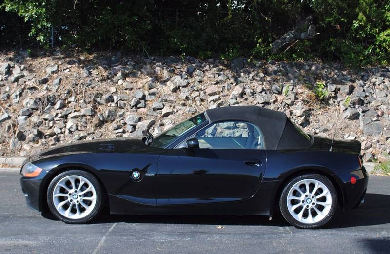 2003 BMW Z4 25I 2DR ROADSTER black front air conditioning interior accents - aluminum steering