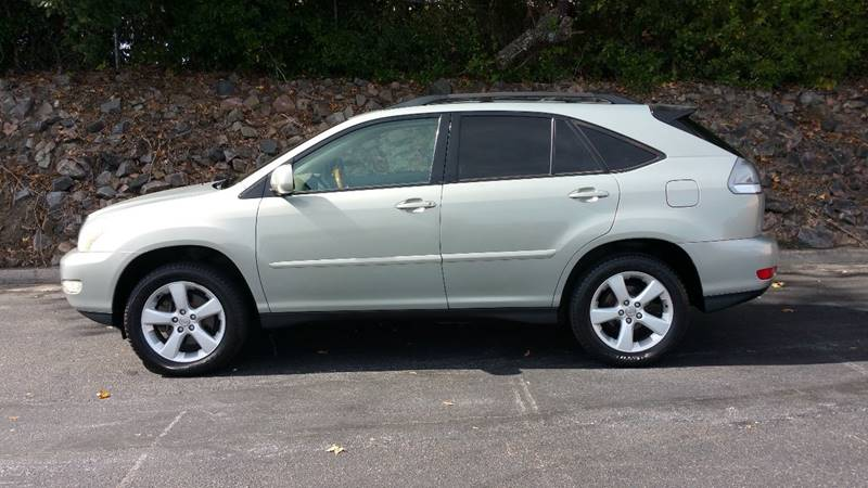 2004 LEXUS RX 330 BASE 4DR SUV silver clean car with memory leather seats sunroof multi disc cd