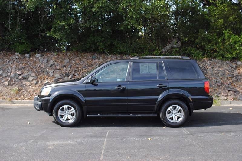 2004 HONDA PILOT EX-L 4DR 4WD SUV WLEATHER black rear spoiler - roofline rear spoiler color - b