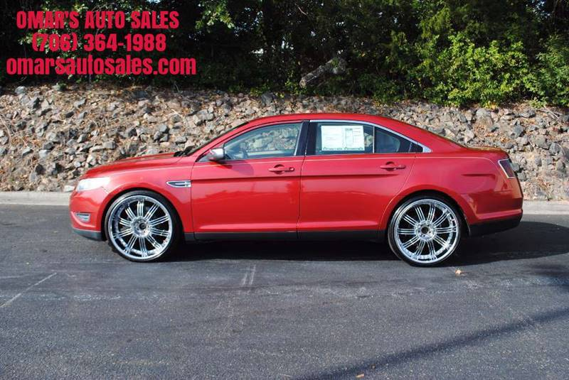 2010 FORD TAURUS LIMITED 4DR SEDAN red 3 months sirius satellite radio free clean car fully loa