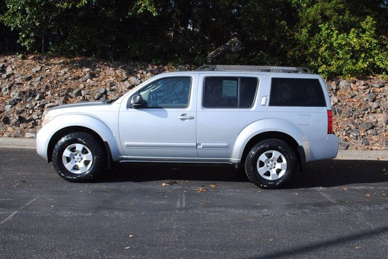 2007 NISSAN PATHFINDER LE 4DR SUV silver running boards - step trailer hitch cargo tie downs s