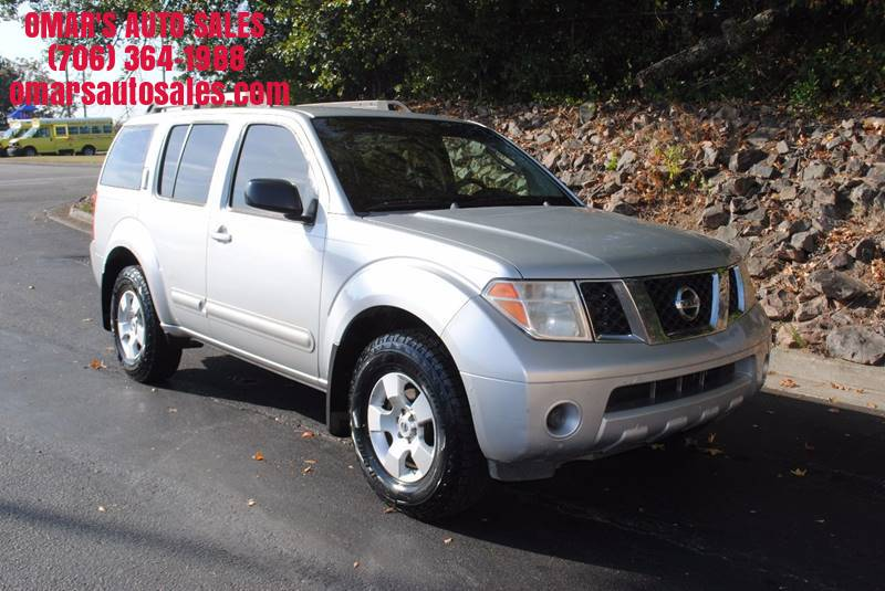 2007 NISSAN PATHFINDER LE 4DR SUV silver new tires power windows power locks and much more ru