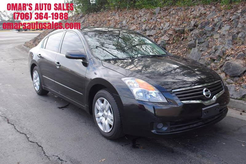 2009 NISSAN ALTIMA 25 S 4DR SEDAN 6M black great starter car clean car with power windows powe