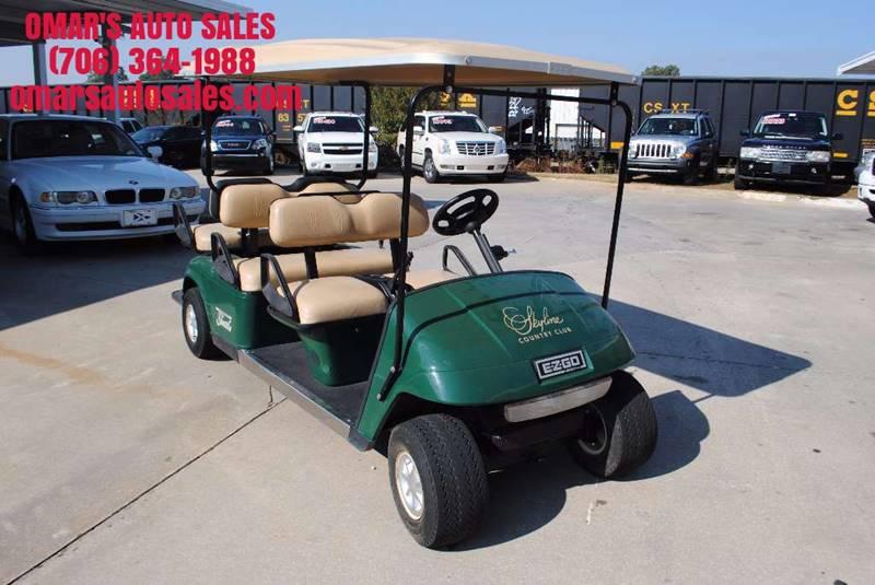 2002 E-Z-GO 48 VOLT SHUTTLE 46 green 0 miles VIN 1494012