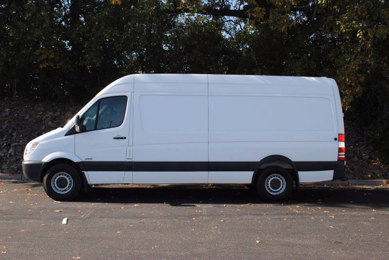 2013 MERCEDES-BENZ SPRINTER CARGO 2500 170 WB 3DR EXTENDED CARGO V white one owner clean leat