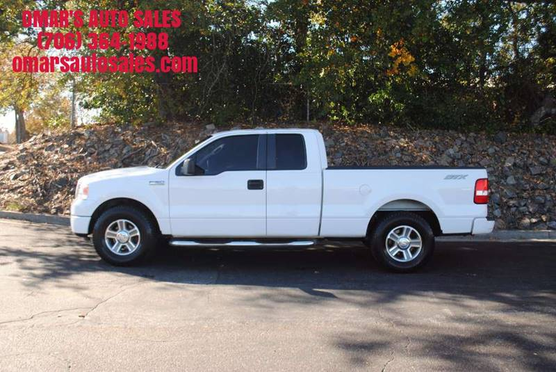 2008 FORD F-150 STX 4X2 4DR SUPERCAB STYLESIDE 5 white clean truck new tires power window  loc