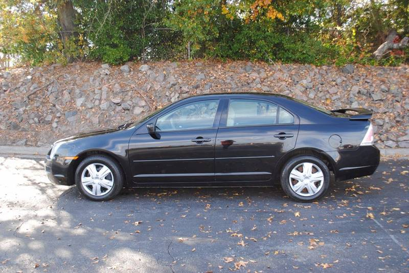 2006 FORD FUSION I4 SE 4DR SEDAN black no accidents clean car with mp3 player power windows