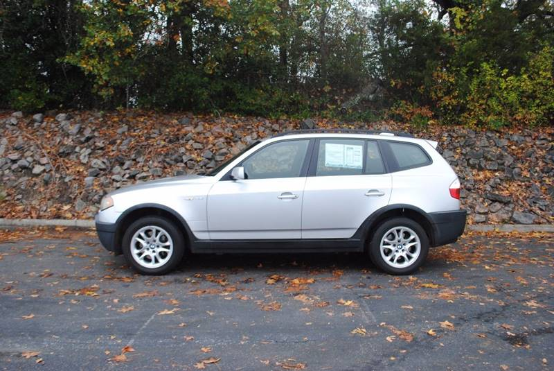 2004 BMW X3 25I AWD 4DR SUV silver no accidents clean carfax with only 2 owners panoramic su