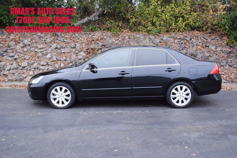 2007 HONDA ACCORD EX-L V-6 4DR SEDAN 3V5A black great gas saver 3 months free sirius satellite
