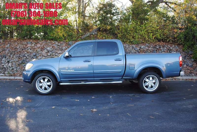 2006 TOYOTA TUNDRA SR5 4DR DOUBLE CAB SB 47L V8 5 blue 3 months free sirius satellite radio cl