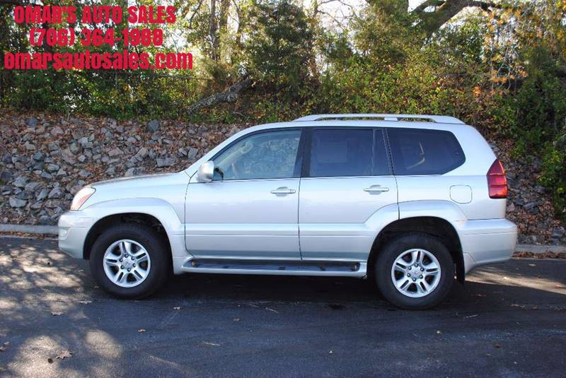2005 LEXUS GX 470 BASE 4WD 4DR SUV silver fully loaded leather heated seats backup camera na