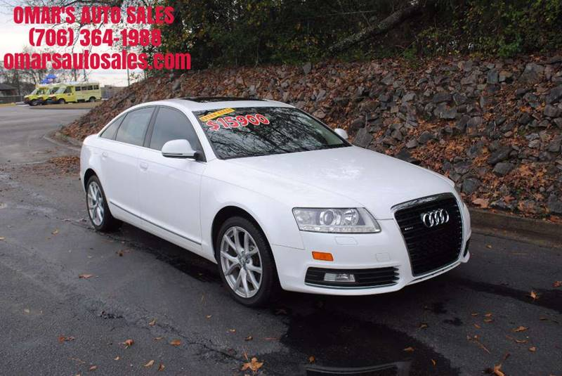 2009 AUDI A6 30T QUATTRO AWD PREMIUM PLUS 4D white no accidents 3 months free sirius satellit