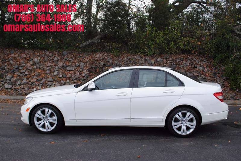 2009 MERCEDES-BENZ C-CLASS C 300 LUXURY 4DR SEDAN white exhaust - dual tip exhaust tip color - c
