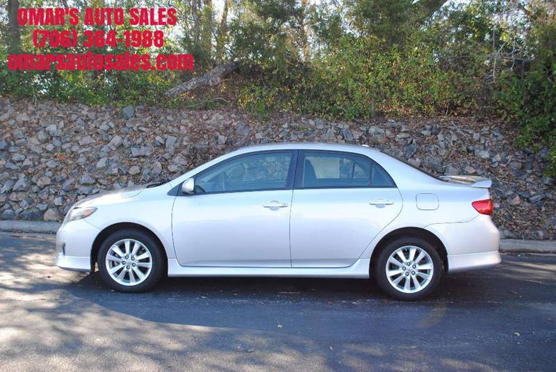 2010 TOYOTA COROLLA S 4DR SEDAN 4A silver no accidents great gas saver clean car with power w