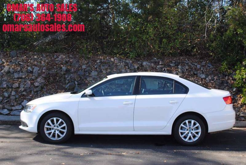 2012 VOLKSWAGEN JETTA SE 4DR SEDAN 6A W CONVENIENCE A white exhaust - dual tip door handle colo
