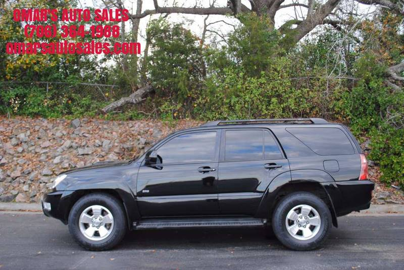 2005 TOYOTA 4RUNNER SR5 4DR SUV black great first car for beginner driver power windows locks