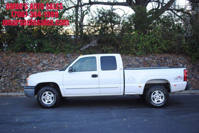 2003 CHEVROLET SILVERADO 1500 LT 4DR EXTENDED CAB 4WD LB white no accidents 3 months free siri