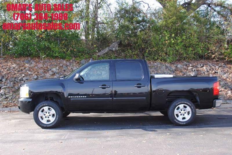 2008 CHEVROLET SILVERADO 1500 LT1 2WD 4DR CREW CAB 58 FT SB black pickup bed light pickup bed