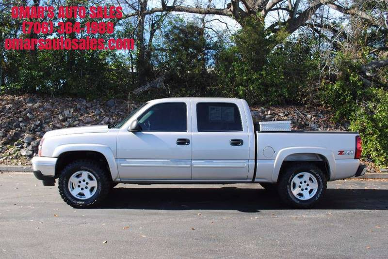 2006 CHEVROLET SILVERADO 1500 LT2 4DR CREW CAB 4WD 58 FT SB tan 4x4 with z71 off road package