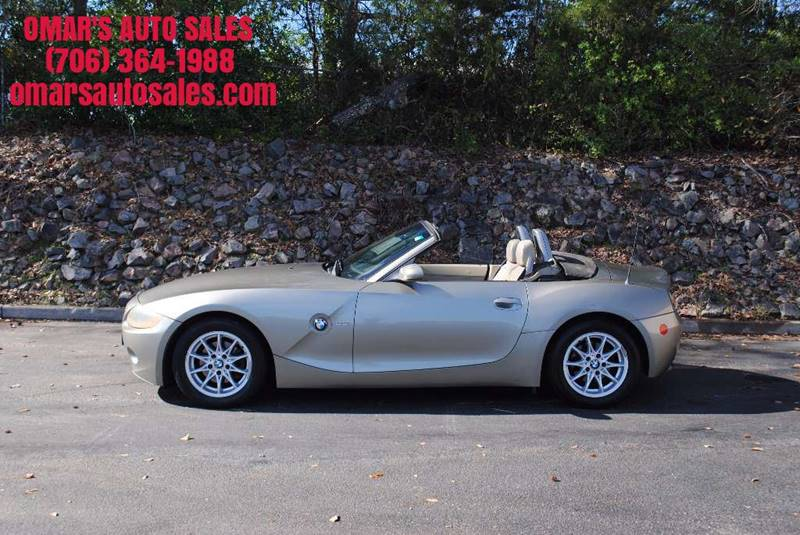 2004 BMW Z4 25I 2DR ROADSTER gray no accidents convertible clean car power leather seats p
