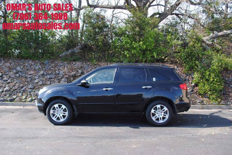 2009 ACURA MDX SH-AWD WTECH 4DR SUV WTECHNOLO black rear spoiler air filtration - active charc