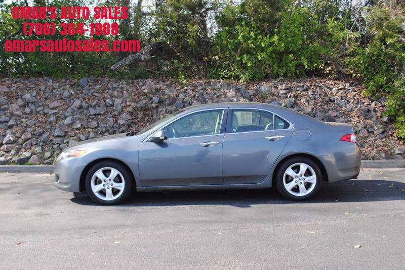 2009 ACURA TSX BASE 4DR SEDAN 5A gray exhaust - dual tip door handle color - chrome front bumpe