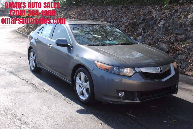 2009 ACURA TSX BASE 4DR SEDAN 5A gray no accidents 3 months free siriusxm satellite radio clea