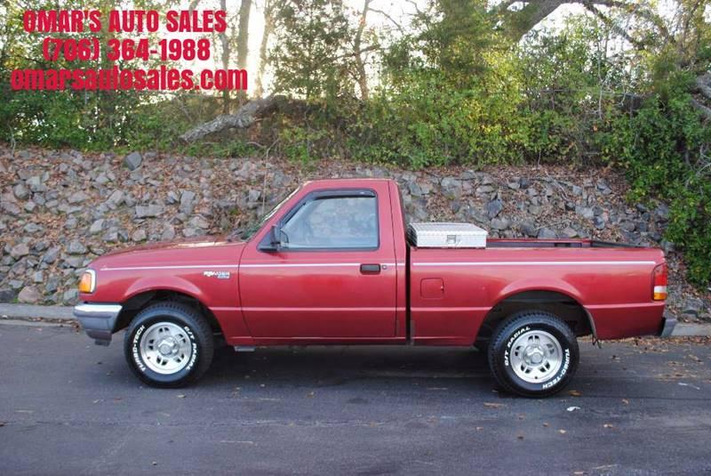 1997 FORD RANGER XLT 2DR STANDARD CAB SB red front bumper color - chrome rear bumper color - chr