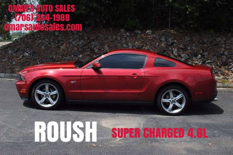 2010 FORD MUSTANG GT PREMIUM 2DR COUPE red rousch super charged 46l 3 months free siriusxm satel