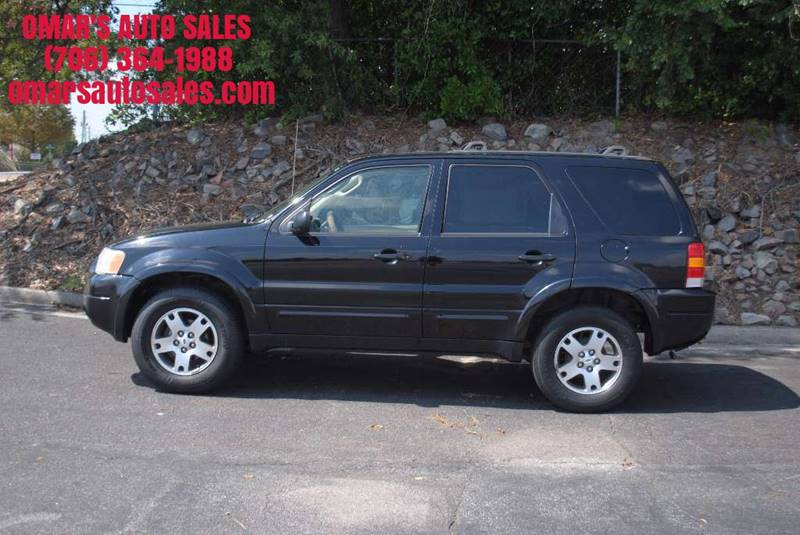 2003 FORD ESCAPE LIMITED 4DR SUV black front air conditioning steering wheel trim - leather cen